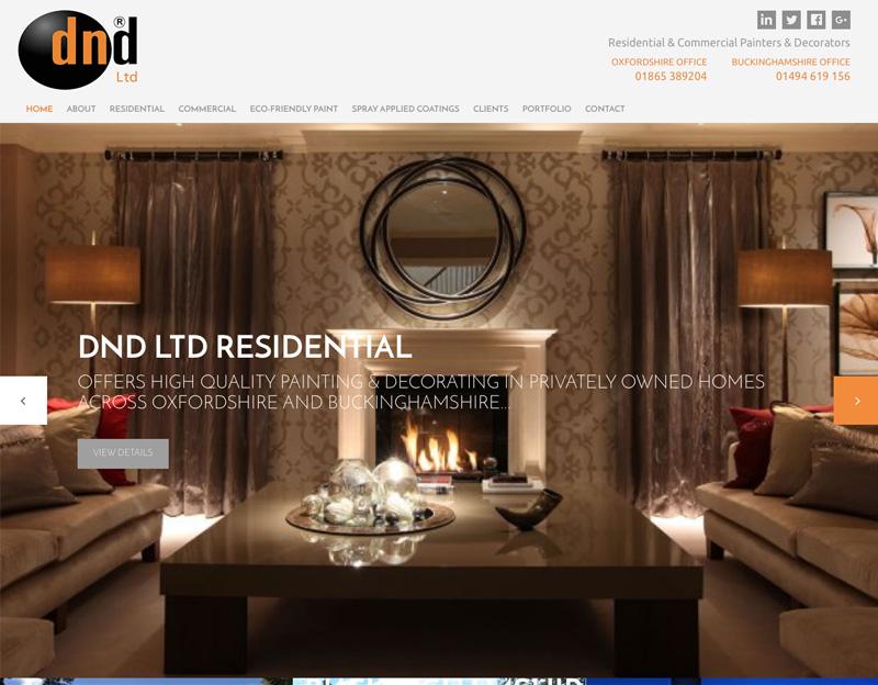 DND Ltd brochure website