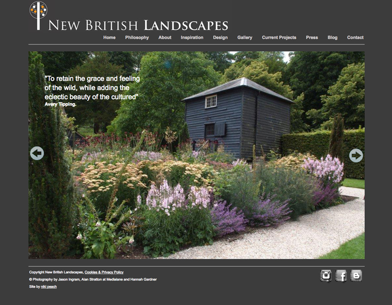 new british landscapes website
