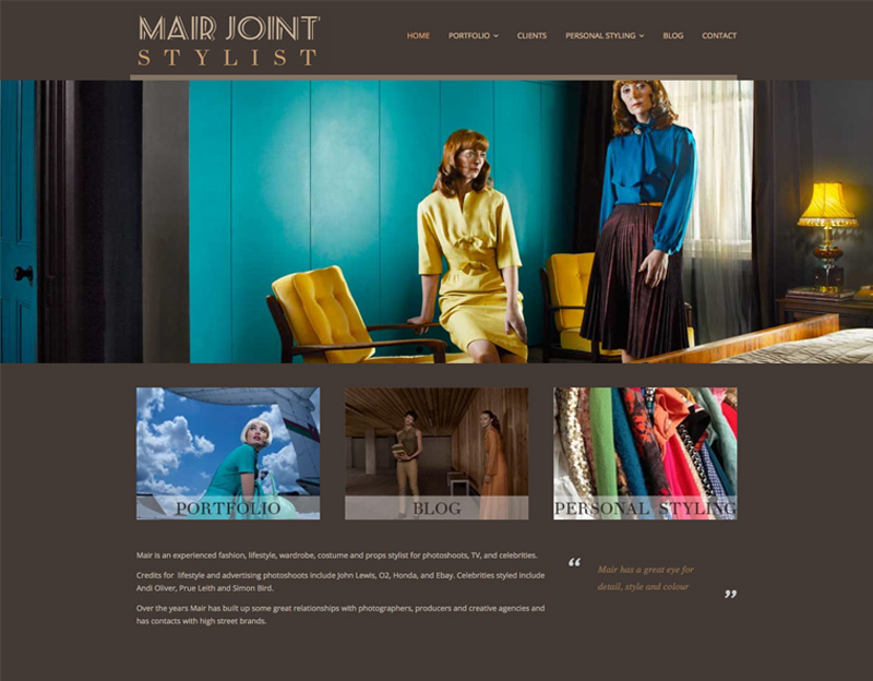 Mair Joint Personal Stylist