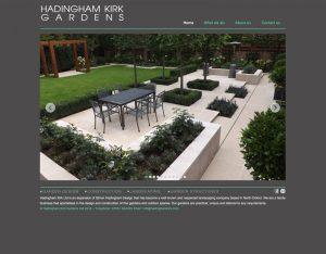 landscape gardener website