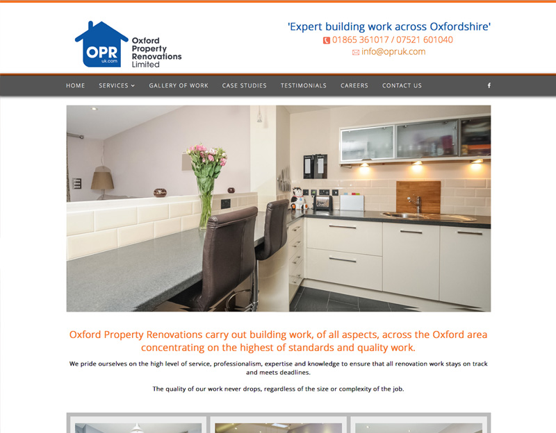 Oxford Property Renovations brochure website