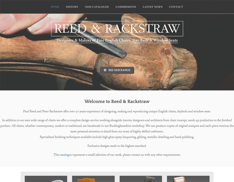 Reed and Rackstraw online brochure website