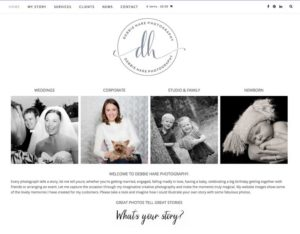 New website for debbie hare photography