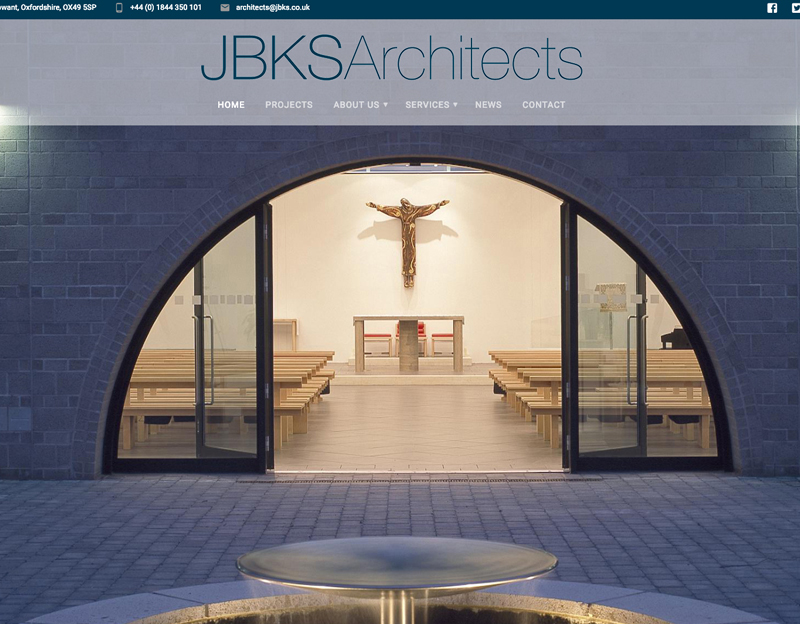 New website refresh for JBKS Architects Oxfordshire