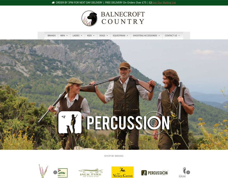 New website for Balnecroft Country