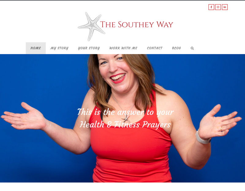 website, logo, branding, clothing for the southey way