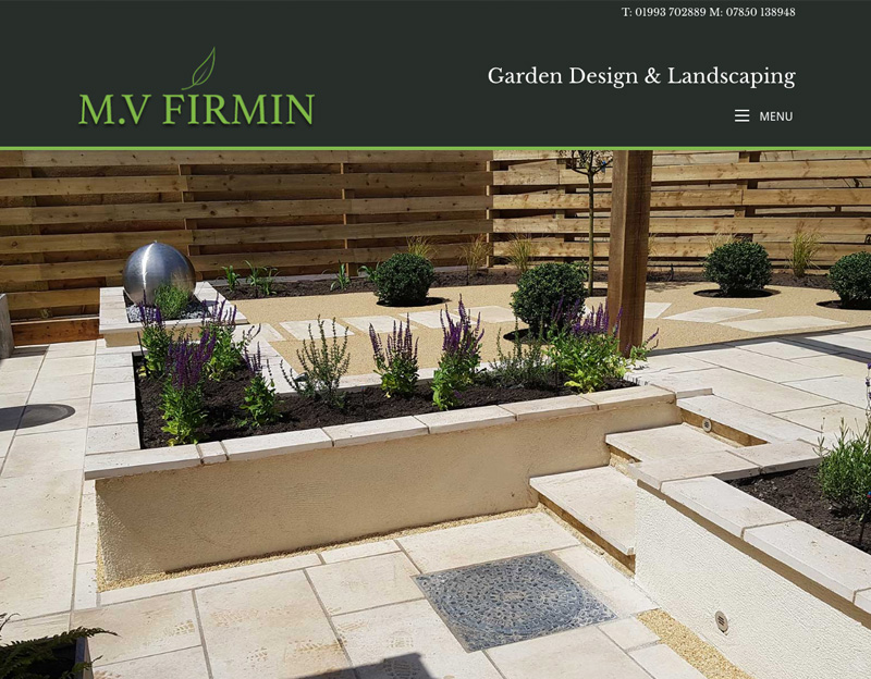MV Firmin Landscaping new website
