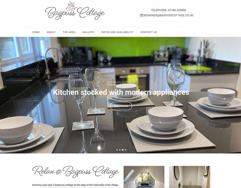 Bagpuss Cottage website
