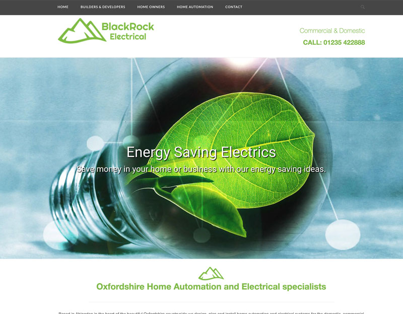 Black Rock Electrical Website