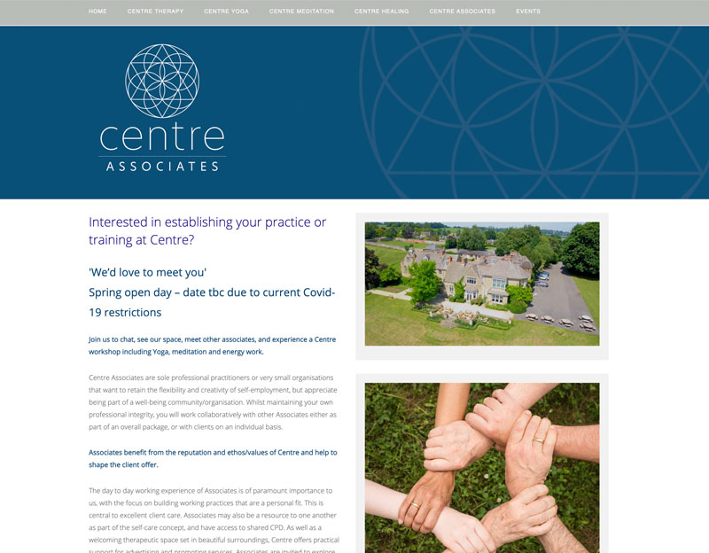 Centre Oxfordshire new website
