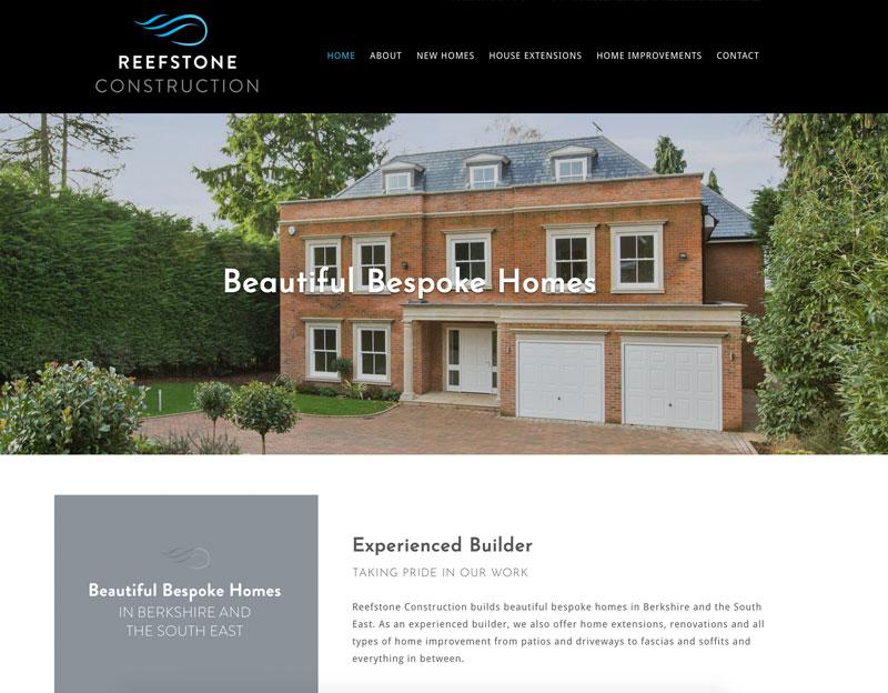 Reefstone Construction Website